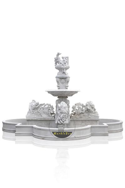 Large Fengshui marble fountain for garden