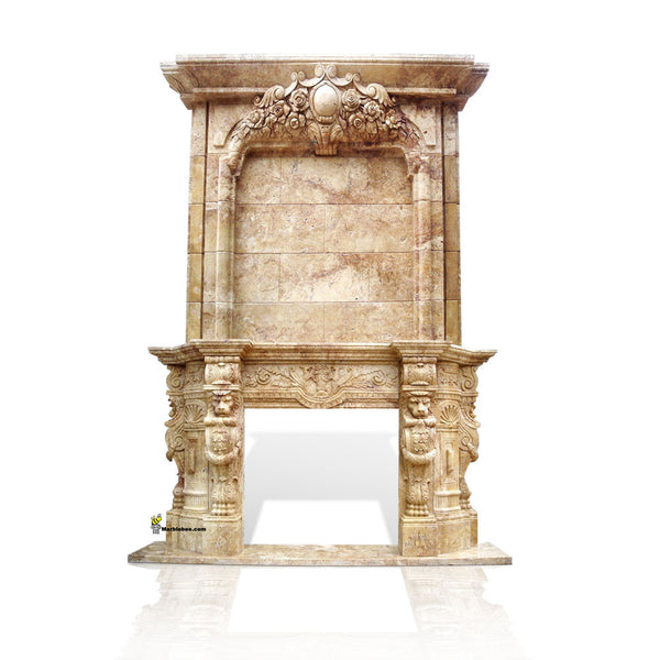 French baroque Double Mantel