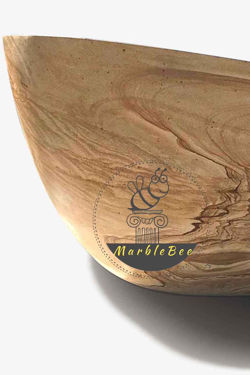 Jubiter Freestanding Natural Stone Bathtub