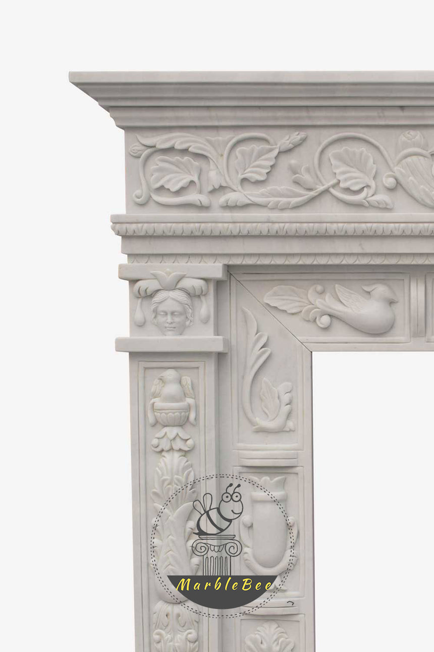 Neoclassical Fireplace Mantel