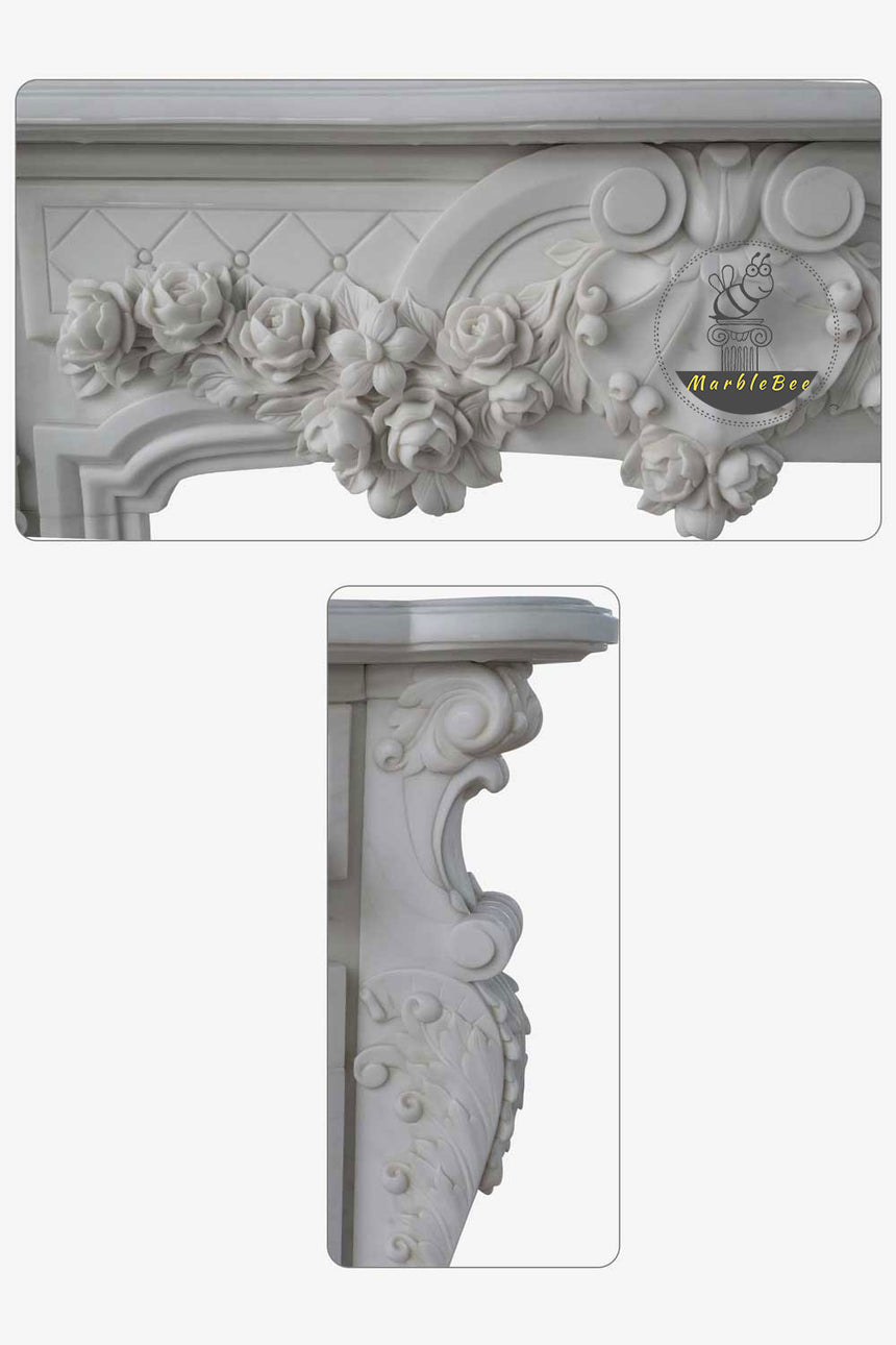 Neo Marble Fireplace