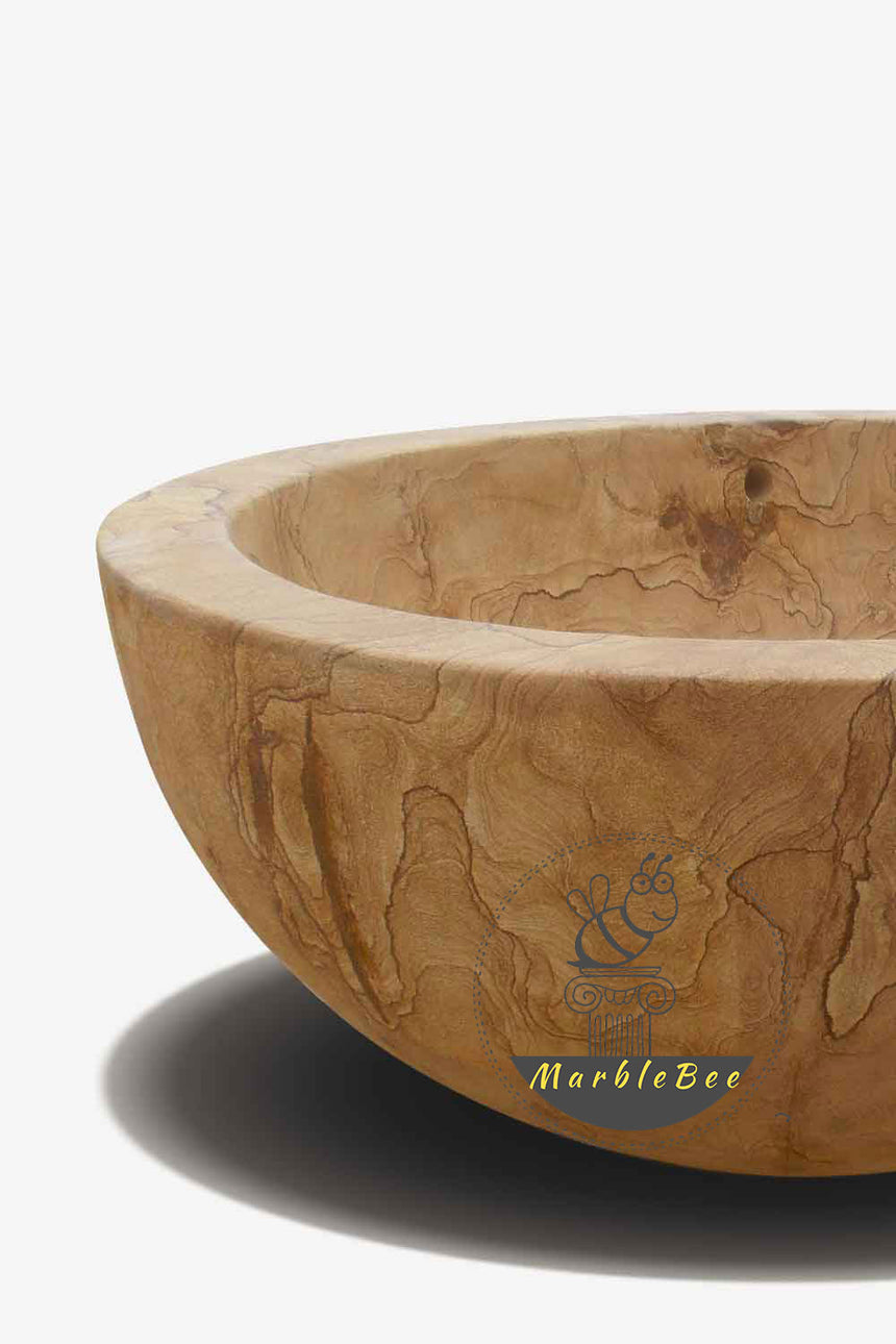 Stone bathtub-Sandstone tub