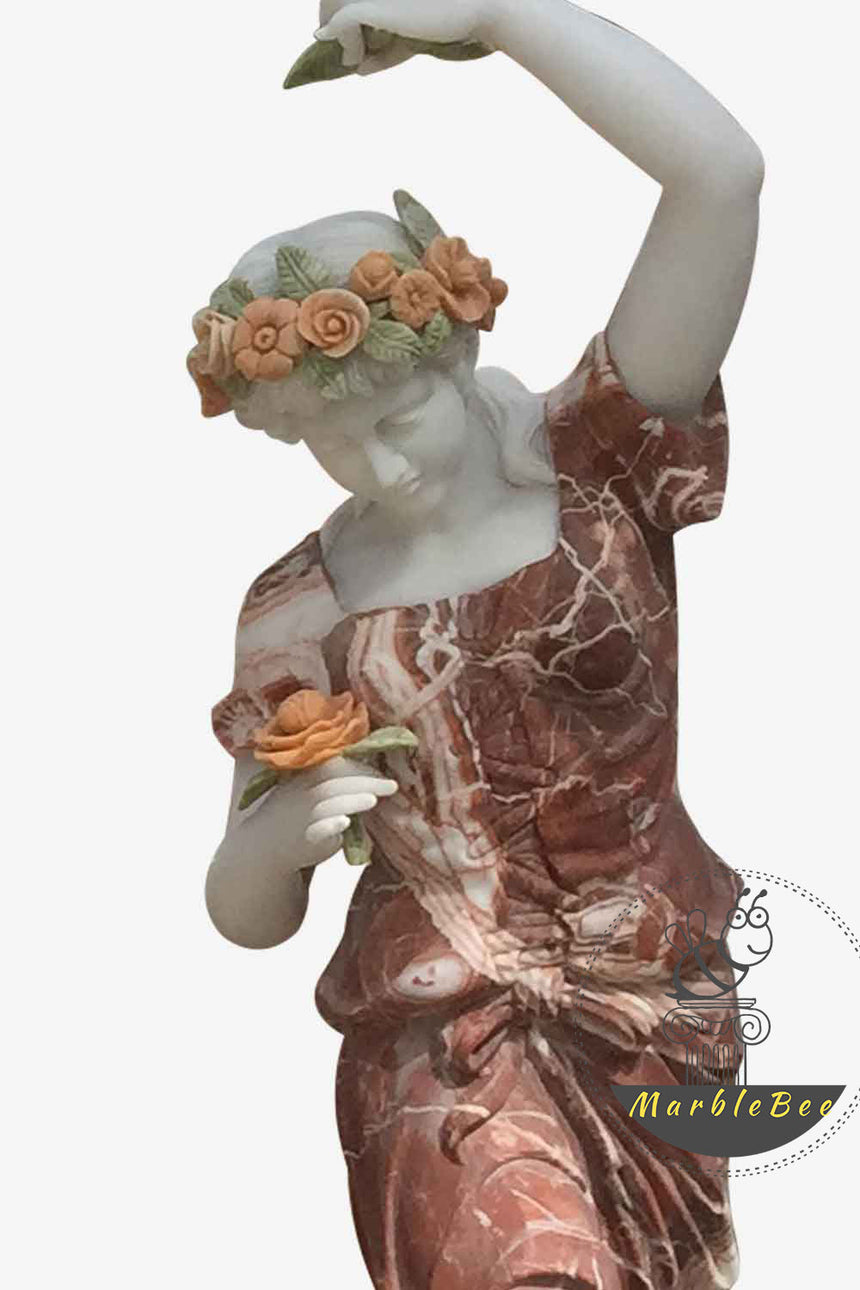 Lifesize Garden sculpture dancing girl