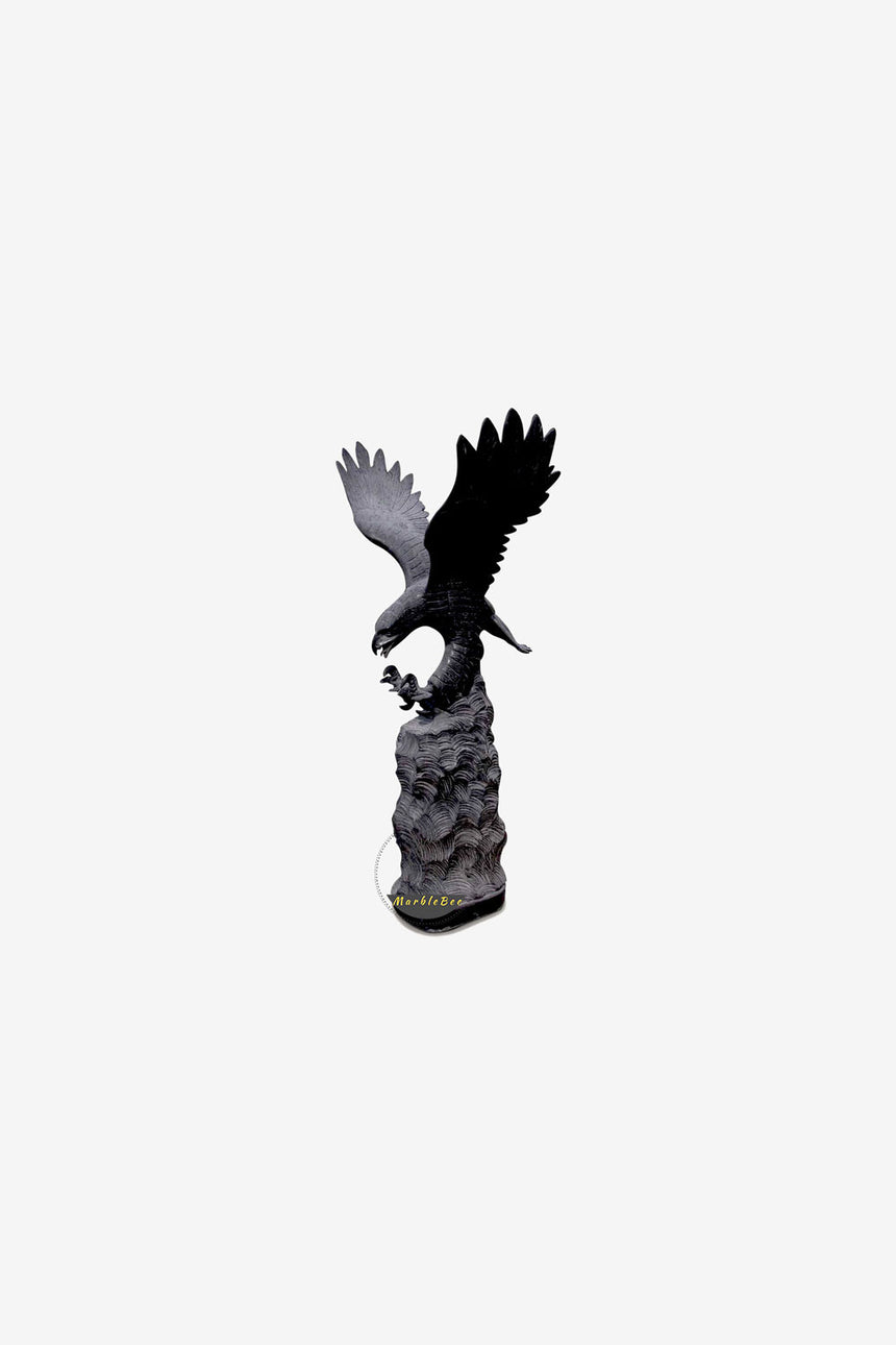 Large Eagle Stone Sculpture