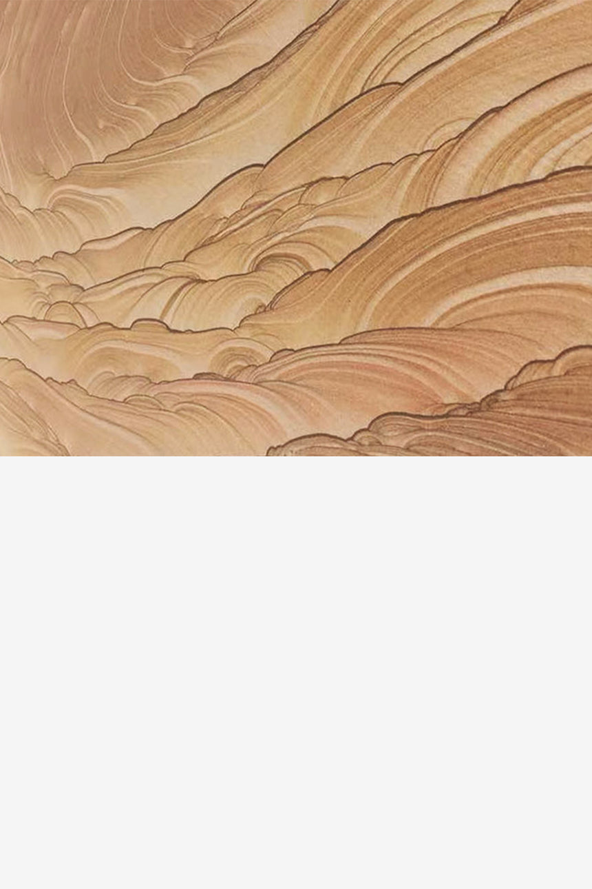 Water wave sandstone