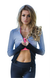 OT Seamless  Dri-Fit Gradient Hoodie - Grey