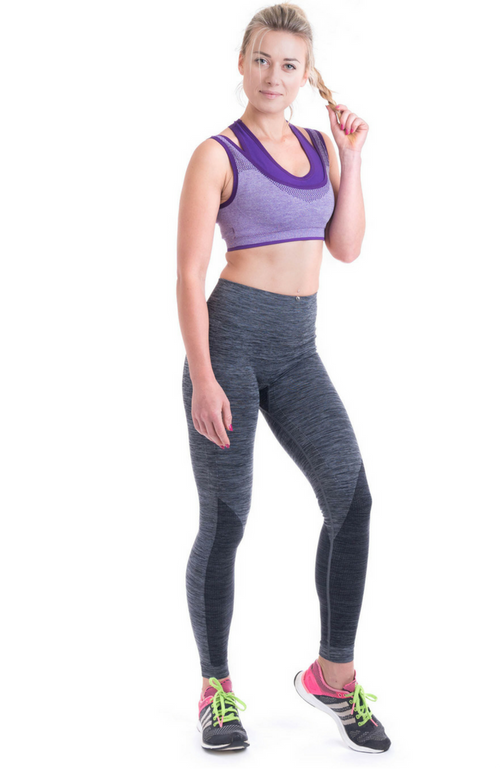 OT Seamless - High Waist Leggings Grey