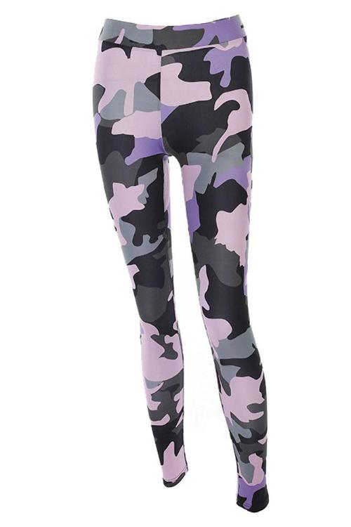 Camouflage Chic Leggings