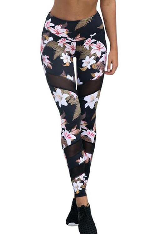 Floral Dark Lush Leggings