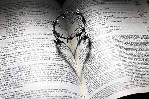 "alt=""crown of thorns in scriptures shows that Christ is the deliverer"""