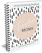 Load image into Gallery viewer, 30 Day Decluttering Workbook