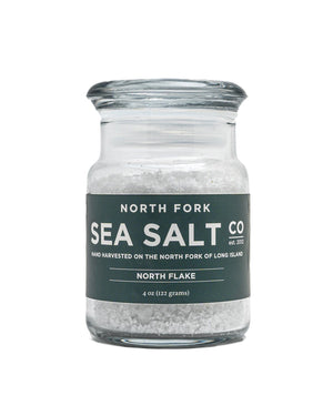 Open image in slideshow, North Flake Sea Salt Salt North Fork Sea Salt 4 oz.