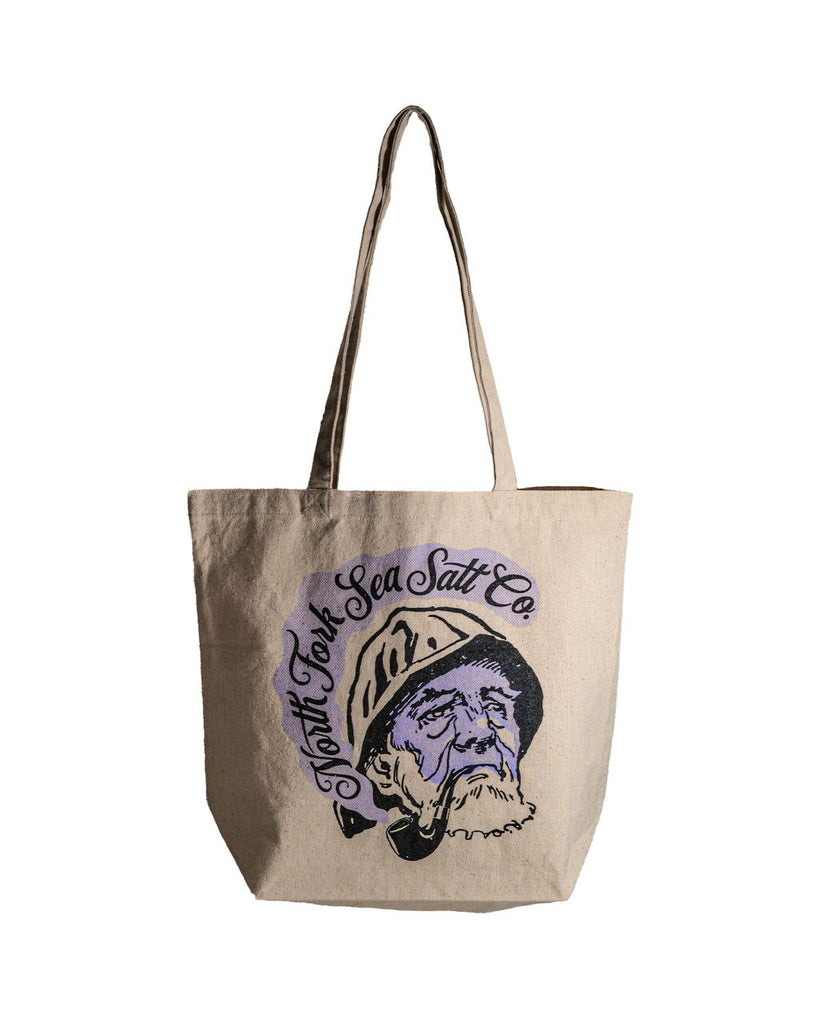 Old Smoke Tote Bag North Fork Sea Salt