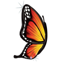 "Load image into Gallery viewer, 46"" Holographic Mylar Butterfly With Helium"