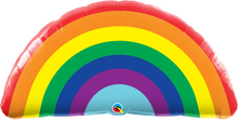 "Load image into Gallery viewer, 36"" Radiant Rainbow With Helium"