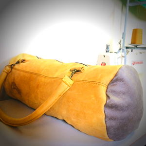 The Rounie Leather Duffle Bag