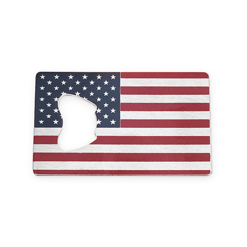 USA Flag Bottle Opener