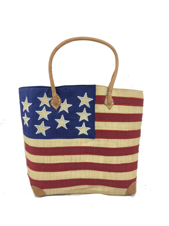 American Flag Basket