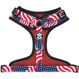 Adjustable Mesh Dog Harness | The Patriot | Fresh Pawz