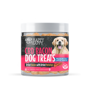 CBD Dog Treats, Bacon, Medium to Large Breeds