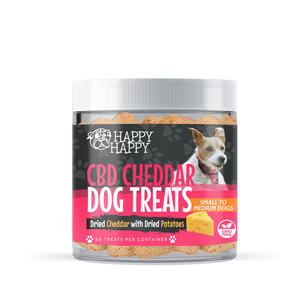 CBD Dog Treats, Cheese, Small to Medium Breeds