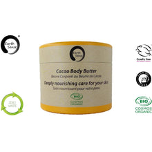 Load image into Gallery viewer, Earth Sense Organics - Organic Cacao Body Butter 200ml