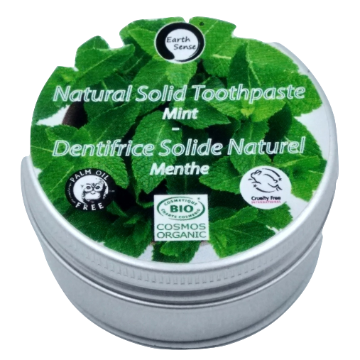Earth Sense Organics - Natural Solid Toothpaste - Daily Use