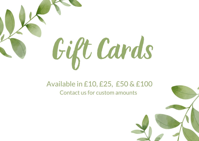 Ethical and Beautiful Gift Card