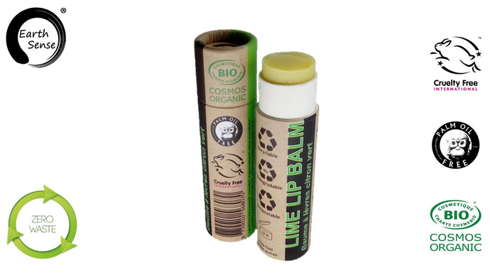 Earth Sense Organics - Organic Lime Lip Balm 15ml