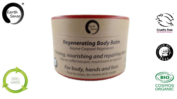 Earth Sense Organics - Organic Regenerating Body Balm with Ylang Ylang 100ml - For Face, hands and whole body