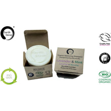 Load image into Gallery viewer, Earth Sense Organics - Organic Balancing Solid Shampoo - Lavender & Mint - Dry & all Hair Types 60g