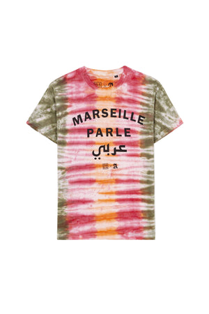MARSEILLE PARLE عرب ORANGE BLEACH TEESHIRT