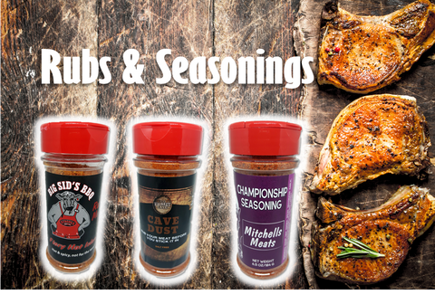 Rubs and Seasonings