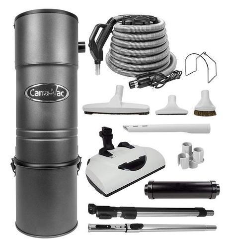 Canavac CV-687 Electric Central Vacuum Package - Mobile Vacuum