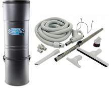 Load image into Gallery viewer, Canavac CV-687 Straight Air Central Vacuum Package - Mobile Vacuum