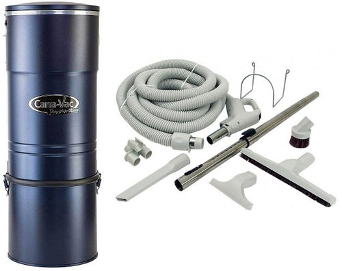 Canavac XLS-970 Straight Air Central Vacuum Package - Mobile Vacuum