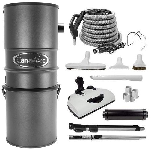 Canavac CV-587 Electric Central Vacuum Package - Mobile Vacuum