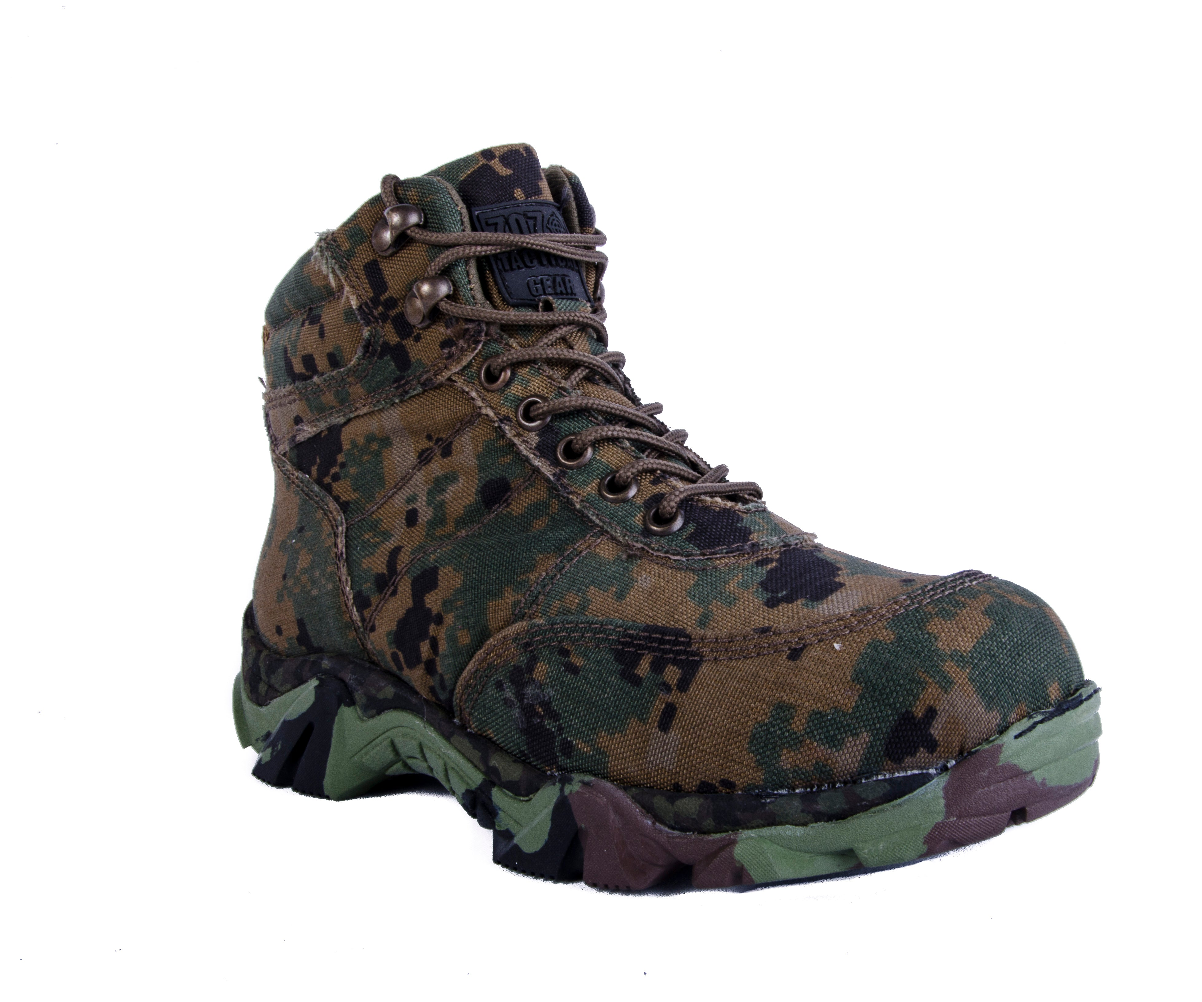 BOTAS TÁCTICAS D-FORCE STEALTH AIRLIGHT (WOODLAND) SIXKA
