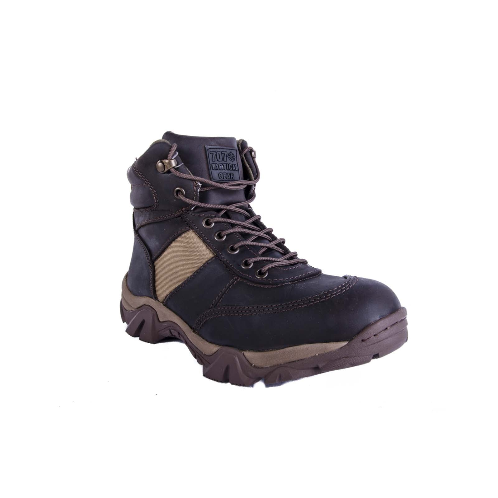 BOTAS TÁCTIAS D-FORCE CRAZY BROWN SIXKA
