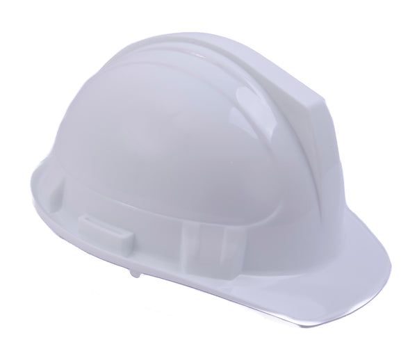 CASCO DE SEGURIDAD AJUSTE DE MATRACA GEO-TEC JET CAP WILLSON-Blanco