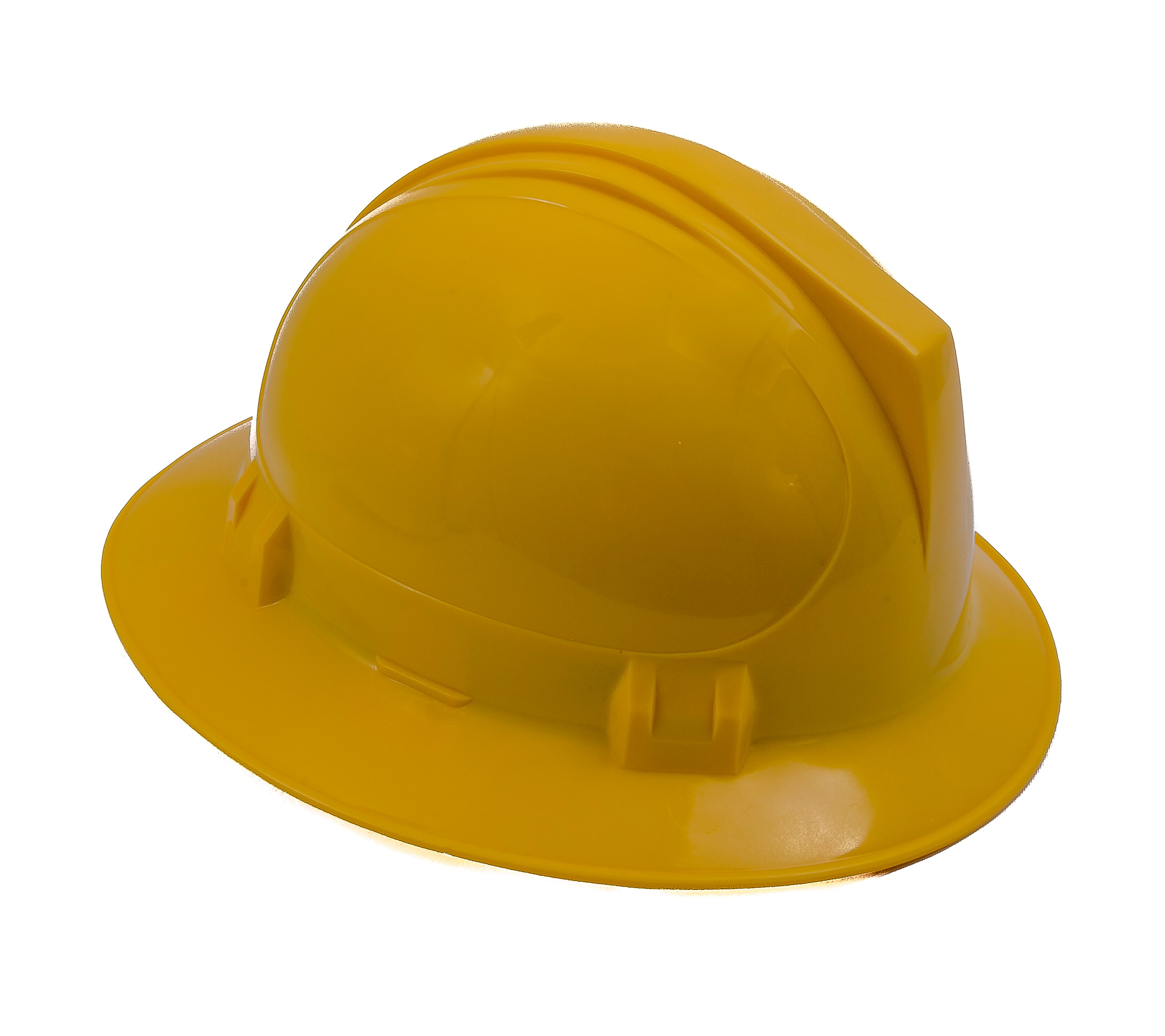 CASCO DE SEGURIDAD ALA ANCHA AJUSTE DE MATRACA GEO-TEC WILLSON-Amarillo