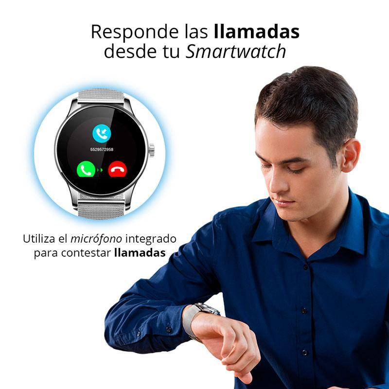 Smartwatch Bluetooth Para IOS y Android Red Lemon