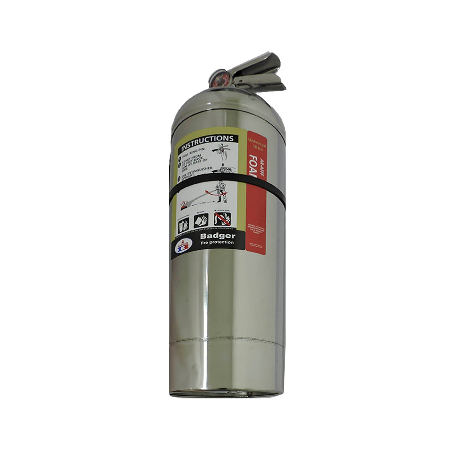 EXTINTOR TIPO B AFFF BADGER 2.5GAL/10L