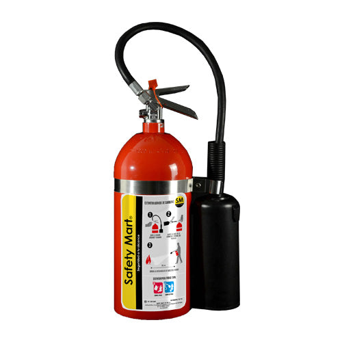 EXTINTOR CO2 10LBS (4.5 KG) SAFETY MART