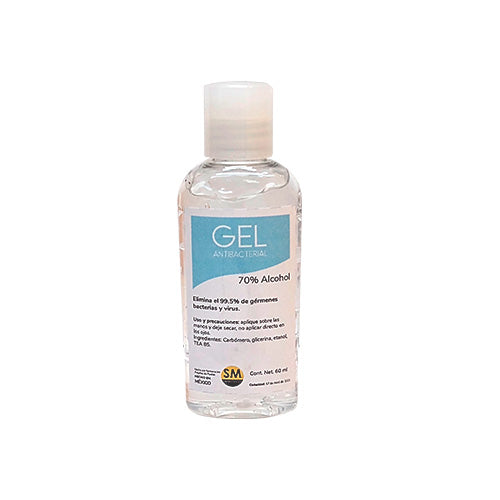 Gel antibacterial personal 60 ml.
