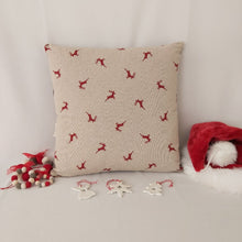 Load image into Gallery viewer, Christmas bear cushion