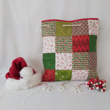 Load image into Gallery viewer, Quilted Patchwork Gift Bag