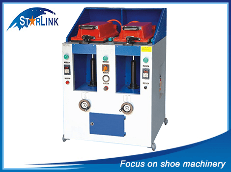 Double Unit Automatic Cover Type Sole Attaching Machine, SLM-4-07
