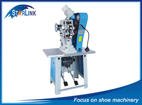 Automatic Single Side Punch&Eyelet Machine, SLM-2-04