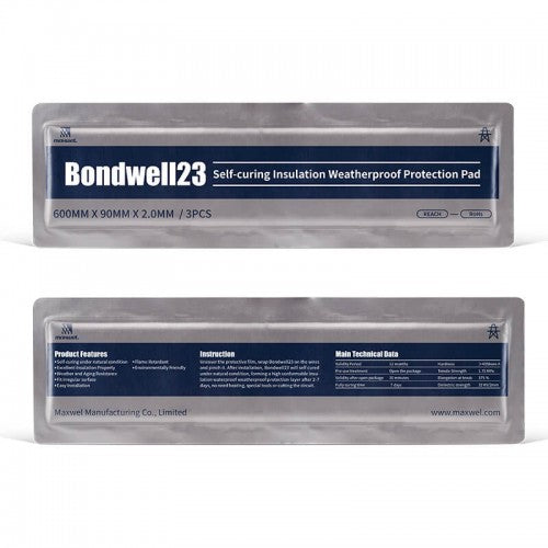 BONDWELL23 SELF-CURING INSULATION WATERPROOF PROTECTION PAD